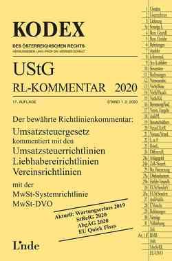 KODEX UStG-Richtlinien-Kommentar 2020 von Doralt,  Werner, Pernegger,  Robert