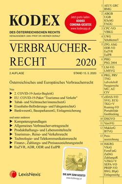 KODEX Verbraucherrecht 2020 von Doralt,  Werner