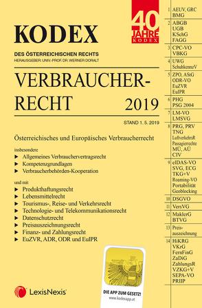 KODEX Verbraucherrecht von Doralt,  Werner