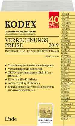 KODEX Verrechnungspreise 2019 von Doralt,  Werner, Macho,  Roland