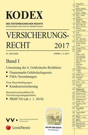 KODEX Versicherungsrecht Band I 2017 von Doralt,  Werner, Ramharter,  Martin