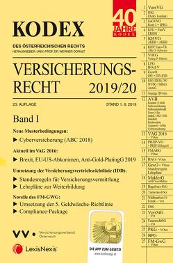 KODEX Versicherungsrecht Band I 2019/20 von Doralt,  Werner, Ramharter,  Martin