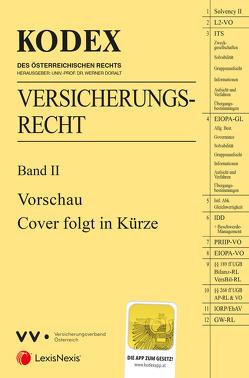 KODEX Versicherungsrecht Band II 2019/20 von Doralt,  Werner, Ramharter,  Martin
