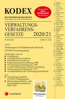 KODEX Verwaltungsverfahrensgesetze (AVG) 2020/21 von Doralt,  Werner, Lanner,  Christoph