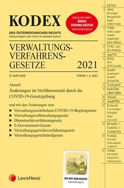 KODEX Verwaltungsverfahrensgesetze (AVG) 2021 von Doralt,  Werner, Lanner,  Christoph