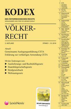 KODEX Völkerrecht 2018/19 von Beham,  Markus, Doralt,  Werner, Fink,  Melanie, Janik,  Ralph