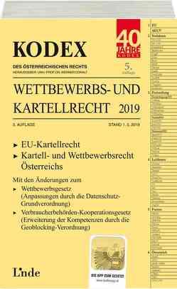 KODEX Wettbewerbs- und Kartellrecht 2019 von Becka,  Marcus, Doralt,  Werner