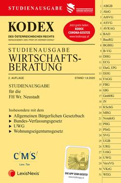 KODEX Wirtschaftsberatung 2020 von Doralt,  Werner, Preining,  Vanessa