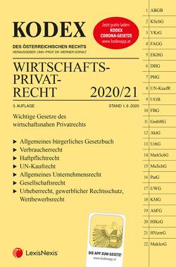 KODEX Wirtschaftsprivatrecht 2020/21 von Doralt,  Werner, Kodek,  Georg E.