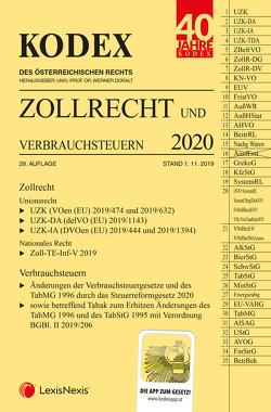 KODEX Zollrecht 2020 von Doralt,  Werner, Gabriel-Lang,  Brigitte, Leitgeb,  Brigitte