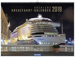 Koehlers Kreuzfahrt-Kalender 2019 von Asmussen,  Oliver