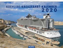 Koehlers Kreuzfahrt-Kalender 2020 von Asmussen,  Oliver