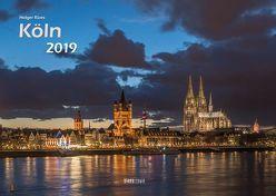 Köln 2019 Bildkalender A3 quer, spiralgebunden von Klaes,  Holger