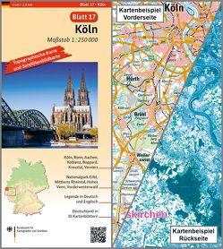 Köln von BKG - Bundesamt für Kartographie und Geodäsie