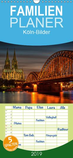 Köln-Bilder – Familienplaner hoch (Wandkalender 2019 , 21 cm x 45 cm, hoch) von Landsmann,  Markus