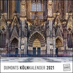 Köln Cologne 2021 – Wandkalender – Quadratformat 24 x 24 cm