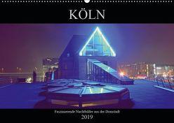 Köln – Faszinierende Nachtbilder aus der Domstadt (Wandkalender 2019 DIN A2 quer) von Dubbels,  Gorden