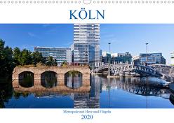 KÖLN – Metropole mit Herz und Flügeln (Wandkalender 2020 DIN A3 quer) von boeTtchEr,  U