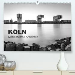 Köln – monochrome Ansichten (Premium, hochwertiger DIN A2 Wandkalender 2021, Kunstdruck in Hochglanz) von rclassen