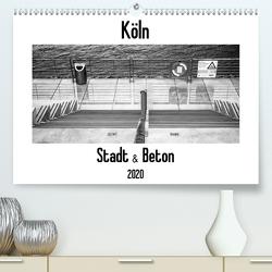 Köln – Stadt & Beton (Premium, hochwertiger DIN A2 Wandkalender 2020, Kunstdruck in Hochglanz) von Ahrens,  Patricia