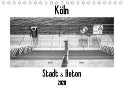 Köln – Stadt & Beton (Tischkalender 2020 DIN A5 quer) von Ahrens,  Patricia