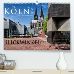 Kölner Blickwinkel (Premium, hochwertiger DIN A2 Wandkalender 2021, Kunstdruck in Hochglanz) von von Pigage,  Peter