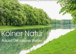 Kölner Natur. Auszeit Decksteiner Weiher (Wandkalender 2019 DIN A2 quer) von Wojciech,  Gaby