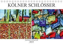 Kölner Schlösser – surreal ins Licht gestellt (Tischkalender 2019 DIN A5 quer) von Meerstedt,  Marina