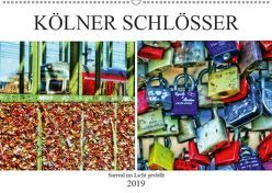 Kölner Schlösser – surreal ins Licht gestellt (Wandkalender 2019 DIN A2 quer) von Meerstedt,  Marina