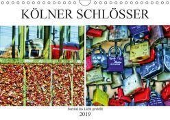 Kölner Schlösser – surreal ins Licht gestellt (Wandkalender 2019 DIN A4 quer) von Meerstedt,  Marina