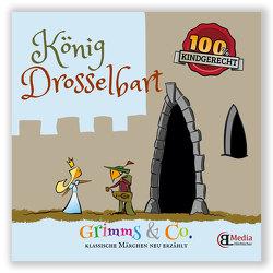 König Drosselbart Märchenlern- und Bastelbuch von Lebsuch,  Bianka