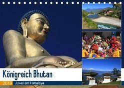 Königreich Bhutan – Juwel am Himalaya (Tischkalender 2019 DIN A5 quer) von Herzog,  Michael