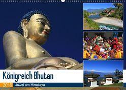 Königreich Bhutan – Juwel am Himalaya (Wandkalender 2019 DIN A2 quer) von Herzog,  Michael