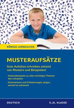 Königs Lernhilfen: Musteraufsätze für die 5./6. Klasse von Coppola,  Evelyn, Radlmaier,  Michaela
