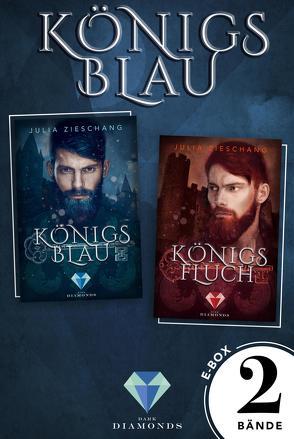 Königsblau: Die E-Box zur märchenhaft-düsteren Reihe über den sagenumwobenen König Blaubart! von Zieschang,  Julia