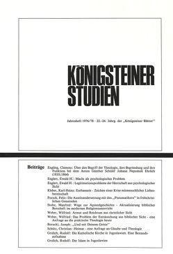 Königsteiner Studien