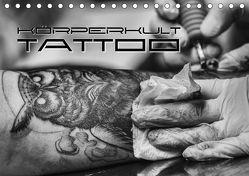 Körperkult Tattoo (Tischkalender 2018 DIN A5 quer) von Bleicher,  Renate