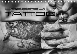 Körperkult Tattoo (Tischkalender 2021 DIN A5 quer) von Bleicher,  Renate