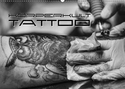 Körperkult Tattoo (Wandkalender 2018 DIN A2 quer) von Bleicher,  Renate