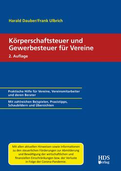 Körperschaftsteuer und Gewerbesteuer für Vereine von Dauber,  Harald, Pientka,  Klaus
