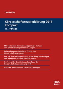 Körperschaftsteuererklärung 2018 Kompakt von Perbey,  Uwe