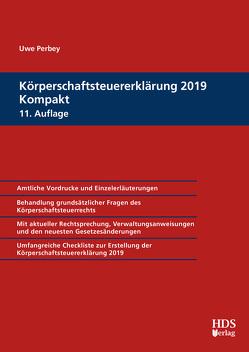 Körperschaftsteuererklärung 2019 Kompakt von Perbey,  Uwe