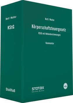 Körperschaftsteuergesetz von Bott,  Harald, Dr. Walter,  Wolfgang