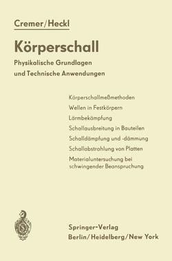 Körperschall von Cremer,  L., Heckl,  M.