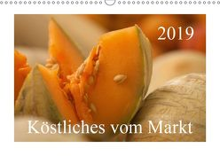 Köstliches vom Markt (Wandkalender 2019 DIN A3 quer) von Pustolla,  Astrid
