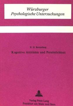 Kognitive Attitüden und Persönlichkeit von Bottenberg, E.H.