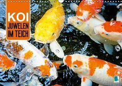 Koi: Juwelen im Teich (Wandkalender 2019 DIN A3 quer) von CALVENDO