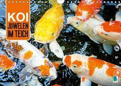 Koi: Juwelen im Teich (Wandkalender 2019 DIN A4 quer) von CALVENDO