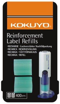 KOKUYO automatischer Lochverstärker Nachfüllpack mit 400 Ringen