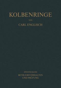 Kolbenringe von Englisch,  Carl